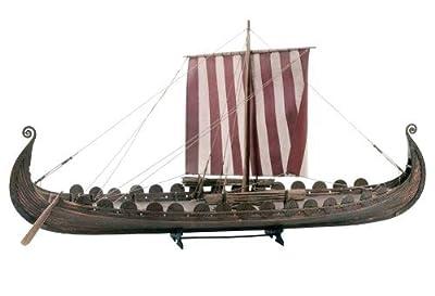 Billing Boats Modellbausatz Oseberg-Schiff, Wikingerschiff im Maßstab 1:25 von Billing Boats