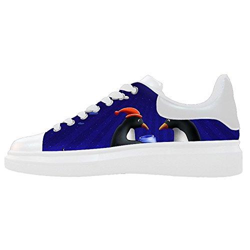 Dalliy pinguin Men's Canvas shoes Schuhe Footwear Sneakers shoes Schuhe E