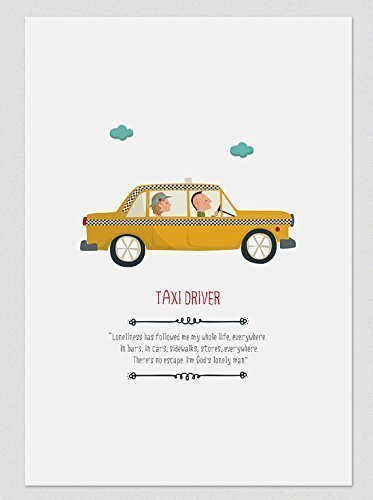 taxi-driver-lamina-en-a4-y-a3