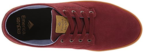 Emerica The Romero Laced burgundy/gum burgundy/gum