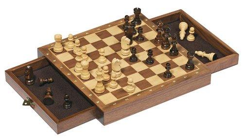 Goki-56919-Magnetisches-Schachspiel-mit-Schubladen