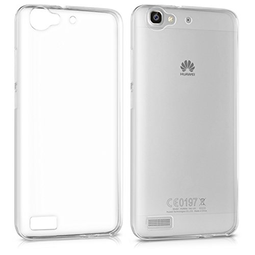 kwmobile Huawei GR3 / P8 Lite SMART Hülle - Handyhülle für Huawei GR3 / P8 Lite SMART - Handy Case in Transparent