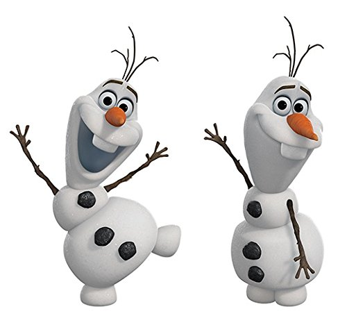 RoomMates RMK2372SCS RM - Disney Frozen Olaf - Der Schneemann Wandtattoo, PVC, Bunt, 29 x 13 x 2.5 cm