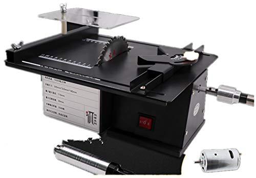 NEWTRY Kleine Tischsäge Multifunktions-Jade Tischschleifer Holzbearbeitung Elektrosäge Präzisionsmodellsäge kleine Schneidemaschine