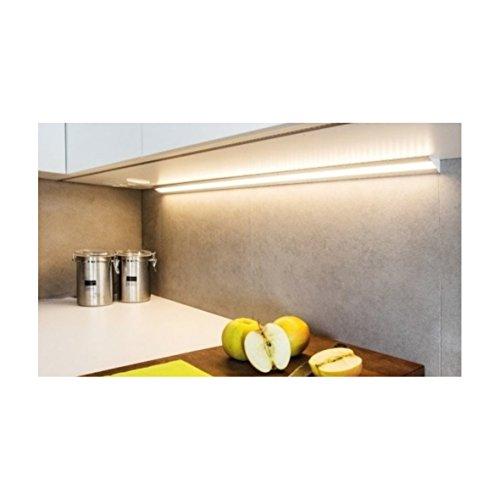 (14,95 €/m) Aluprofil 2m Aufbau Aluminium Eckprofil Profil – für LED Lichtband bis 10mm (2m opal) - 2