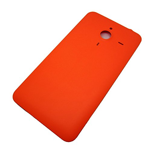 Feicuan Battery Door Back Cover Case and Screen Protector für Microsoft Lumia 640XL Color Orange Batterie Back Door Cover Case