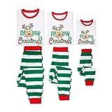 Juleya Buon Natale abbinabile Famiglia Pigiama Set Pigiama Pigiami Homewear Pelo lungo manica Abiti Natale Papà Mamma Pigiama Bambini Set