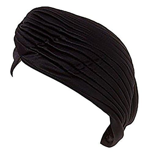 Damen Sultan Cap indische Scheich Kostüm Stoff-Mützen viele Farben Shanka. Bollyw. Hats 4867: Farbe: schwarz 4869 (Sultan Kostüme Für Erwachsene)