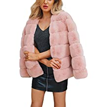 POLP Abrigos mujer Abrigos de Invierno para Mujer Invierno Abrigo Casual Chaqueta de Lana Capa Jacket