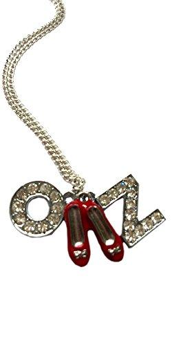 Inspiriert vom Zauberer von Oz ' & Oz RUBY SLIPPERS' Halskette - Retro (Ruby Wizard Of Oz Red Slippers)
