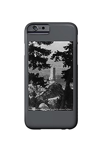 Colorado Springs, Colorado - View of the Will Rogers Shrine of the Sun on Cheyenne Mt. (iPhone 6 Cell Phone Case, Slim Barely There) -