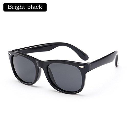 Kinder Kids Classic Style polarisierte Sonnenbrille UV400 Schutzbrille TAC Flexible Frame für Jungen Mädchen (Farbe : Bright - Buch Woche Kostüm Für Kids