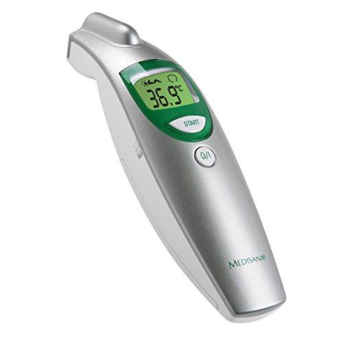 Medisana FTN Termómetro por infrarrojos de medición precisa, medición en...