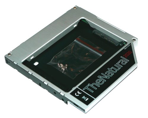 "Adattatore HDD/SSD per Apple iMac 20"" 21.5"" 24"" 27"" (2009 - 2011) sostituisce SuperDrive 12.7 mm (SATA - SATA) - TheNatural2020"