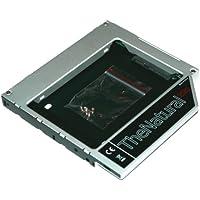 """TheNatural2020 - HDD/SSD adaptador para Apple iMac 20"""" 21.5"""" 24"""" 27"""" (2009 - 2011), sustituye SuperDrive, 12.7 mm (SATA - SATA)"""