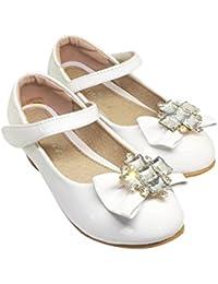 TZ _Online niña infantil Boda Dama De Honor Zapatos Fiesta Talla 7-3