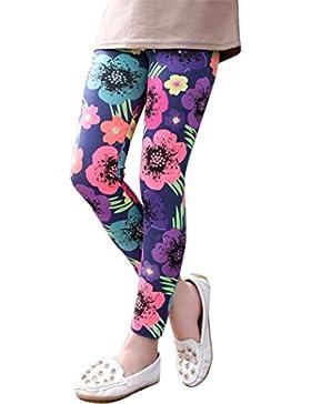 Pantalones nina Switchali infantil bebé niñas Multicolor Pantalones largos impresión de la flor polainas Leggings...