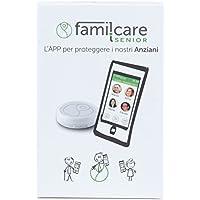 famil.care Senior - salvavita con abbonamento per DUE MESI. Dispositivo di emergenza, SOS e GPS Tracking per anziani.