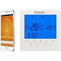 Termostato per caldaia a gas BEOK BOT-313WIFI con 230vac, 3A, con termostato ambiente di controllo APP del telefono gratuito