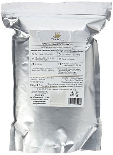 Tea Soul Huoshan Huangya Premium Lose Blatt Gelber Tee, 1er Pack (1 x 250 g)