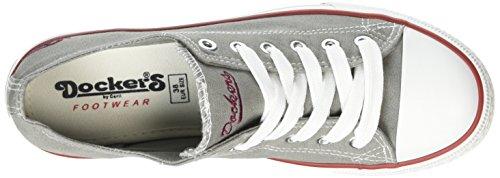 Dockers by Gerli 36UR201-710500 Damen Sneakers Grau (hellgrau 210)