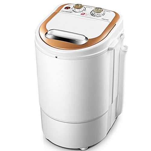 OCYE Mini Lavatrice Portatile compatta a Botte Singola con cestello per disidratazione, capacità Campeggio da 5 libbre, Appartamento, dormitorio, Camper, ECC.