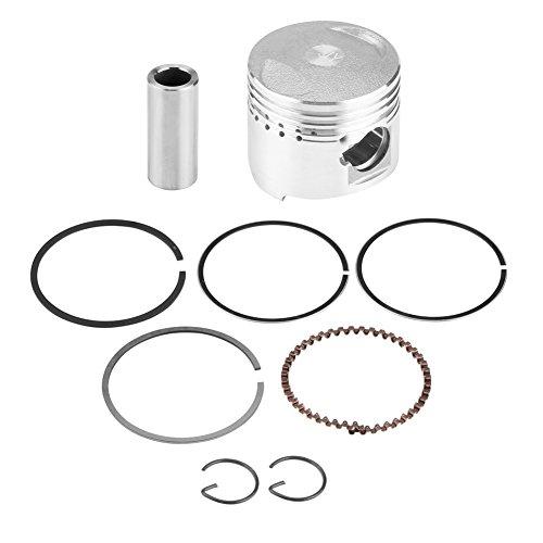 Preisvergleich Produktbild Qiilu Filter Zylinder Kolben Zusammenbau Ringe,  39mm Kolben Ring Installationssatz für horizontales Motor Roller Moped Motorrad 50CC
