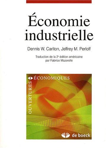 conomie industrielle