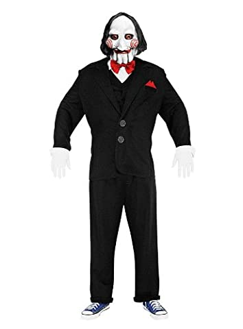 Saw Billy Costume - Saw Jigsaw Puppet Taille M