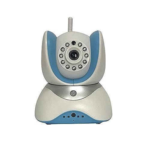 Caméra de surveillance sans fil 720P IP, caméra de sécurité à domicile 3D Echo Noise Reduction / Dual-Way Talk / Motion Detector