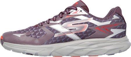 Skechers  53997/Burg, Chaussures de ville à lacets pour homme Rouge