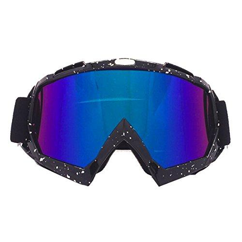 Butterme Ski-Schutzbrillen Snowboard-Brillen Einstellbarer UV-Schutz Anti-Fog-Ski-Schutzbrillen Motorrad-Schutzbrillen Eyewear Staubgeschützte Schutzbrillen-Schutzbrillen Spielspiele Schutzbrillen