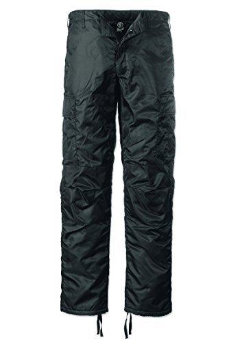 Brandit - Pantalons de Ski, Pantalons Thermiques pour Hommes, Noir XL