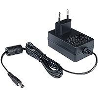 Poppstar Universal AC DC Netzteil, Steckernetzteil 12V 2A (2000mA, 5,5/2,5mm) Adapter - Stromadapter für Externe Festplatten-Gehäuse, Dockingstation UVM, 150cm
