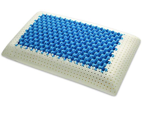 Marcapiuma - Cojín de Memory - Blue Air Massage - Inserto Ultra Transpirable Efecto Masaje...
