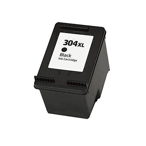 Ouguan 1x nero cartucce d' inchiostro remanufacturées hp 304304x l compatibile per hp deskjet 372037213723372437303732375237553758stampante