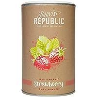 Harvest Republic bio de polvo Fresa, pulpa para fresas Shakespeare, Organic Food Vegano,
