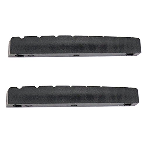 Sharplace Kunststoff Bridge Nut/Brücke Nuss Zubehör Set für 8 Saiten Gitarre/Ukulele