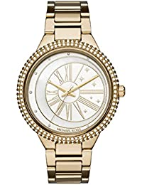 Michael Kors Women's Analogue Quartz Watch with Stainless Steel Strap MK6550