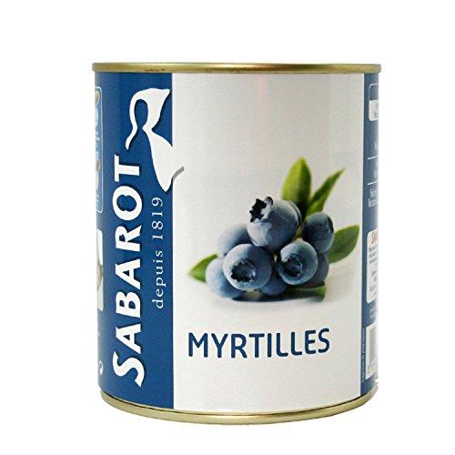 Sabarot - Myrtilles en conserve 310g