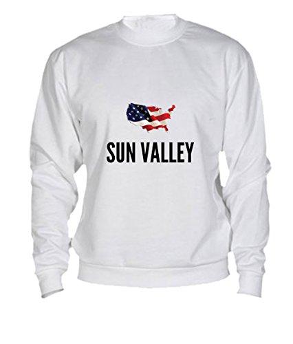 Felpa Sun valley city White