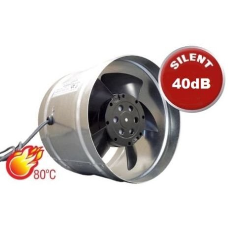 Metall Inline Abluftventilator Größe 150mm Kamin Luftführung Ventilator Commercial Industrie Küche Herd Duct Kamin Liner Auspuff Rauch-Fan - Abluftventilator Küche