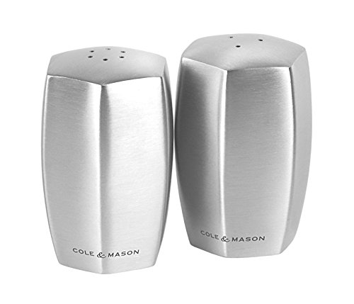 Cole & Mason H101849 Lymington Shaker set (Glass Pepper-set)
