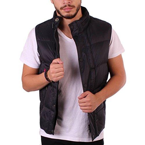 Les gilets pour hommes, couleur Noir , marque BARBOUR, modèle Les Gilets Pour Hommes BARBOUR MQU0792BK11 Noir Noir
