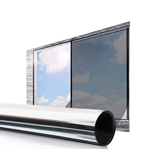 Essort Vinilo Película Ventana 45 x 200 cm Solar Adhesiva Lámina Privacidad Anti 92% UV...