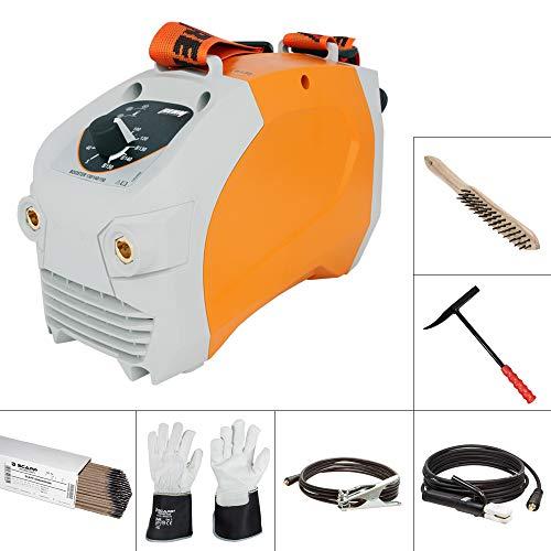 REHM BOOSTER 150 im SET 2, Elektrodenschweißgerät im Set inkl. SCAPP Schweißkabel, Massekabel, SCAPP Stabelektroden, Handschuhe, usw.