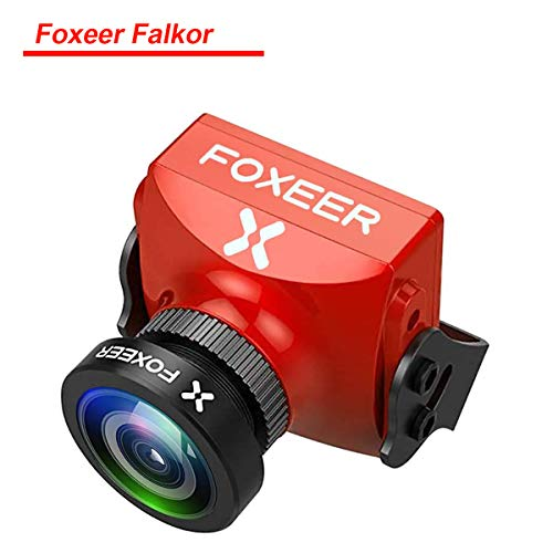 Foxeer Micro Predator V4 FPV Fotocamera 1.8 mm 4: 3/16: 9 1000TVL Pal / NTSC commutabile WDR FPV Camera per FPV Racing Drone Super (Foxeer Falkor)