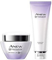 Avon Fairness Day Cream + Cleanser��(Set of 2)