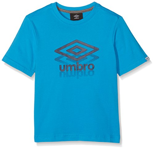 umbro-513120-40-t-shirt-garcon-aqua-fr-150-taille-fabricant-150
