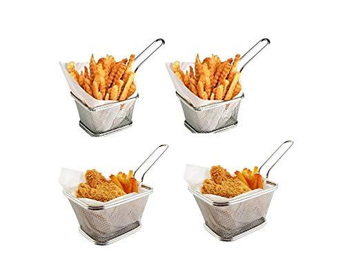 Conjunto herramientas cocina papas fritas acero inoxidable